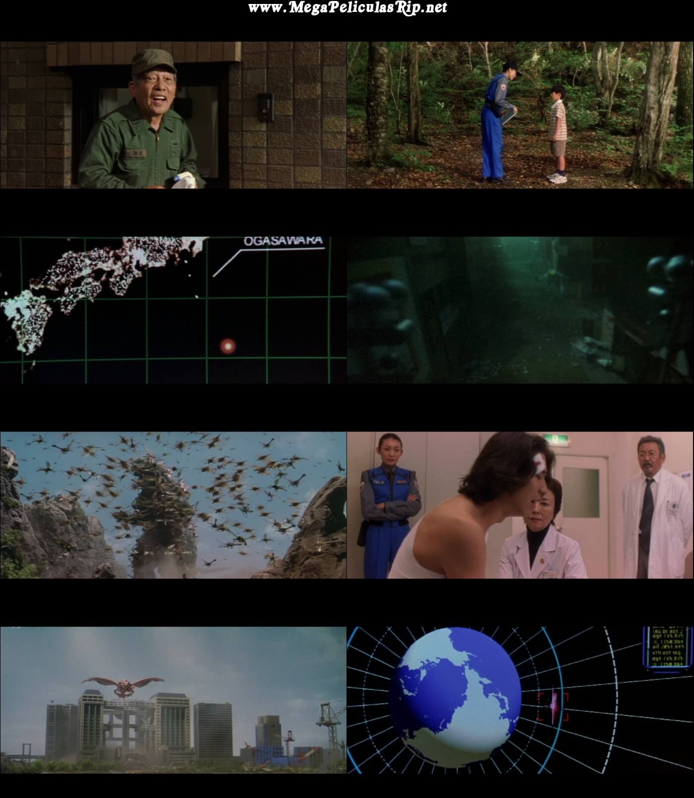 Godzilla VS Megaguirus 1080p