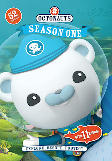 Octonauts will introduce your young ones to fish and marine animals.