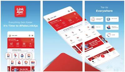 Aplikasi Uang Elektronik - LinkAJa
