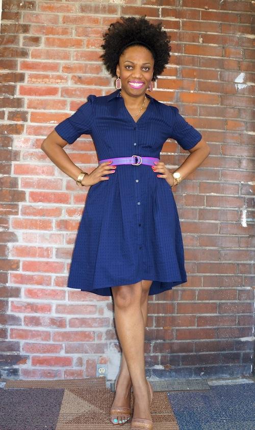 7020d3a5ff195 Anthropologie Moulinette Soeurs Sz 2 Silk Fully Lined Blue Floral Wrap Dress  EUC
