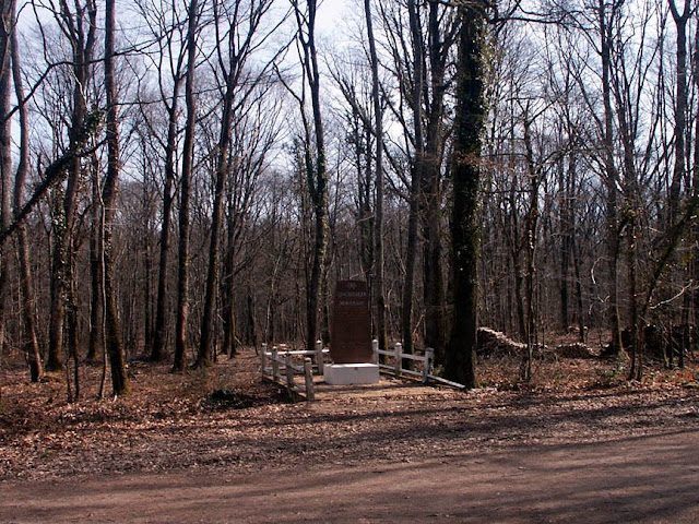 Resistance memorial in the forest, Indre et Loire, France. Photo by Loire Valley Time Travel.