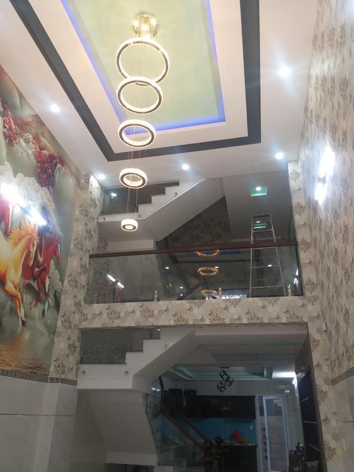 Bán nhà mới xây hẻm 473 Lê Văn Quới phường Bình Trị Đông A quận Bình Tân. Dt 4x20m