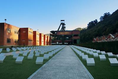 Pozo Sotón, memorial, minero