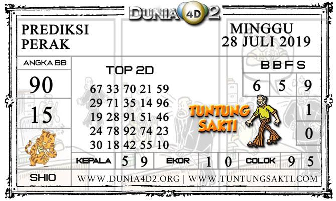 """Prediksi Togel """"PERAK"""" DUNIA4D2 28 JULI 2019"""