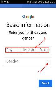 Mobile Me New Google Account Kaise Banaye?