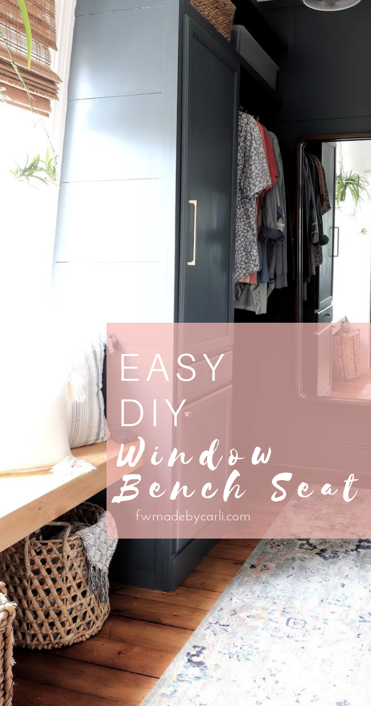 Super Easy Diy Window Bench Made By Carli Ocoug Best Dining Table And Chair Ideas Images Ocougorg