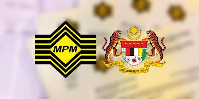 Pendaftaran Calon Persendirian STPM 2020 Online