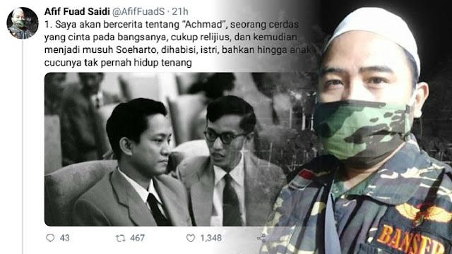 Aktivis GP Ansor: DN Aidit Aidit Cukup Religius, Cinta Bangsanya dan Jadi Musuh Soeharto