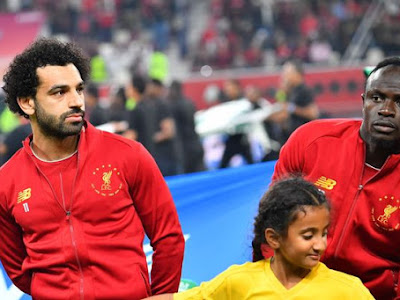 Mohamed Salah's message for Liverpool teammate Sadio Mane as Senegalese collects African Player of the…