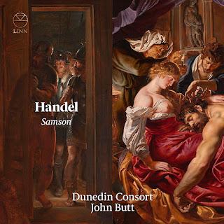 Handel - Samson - Dunedin Consort, John Butt - Linn