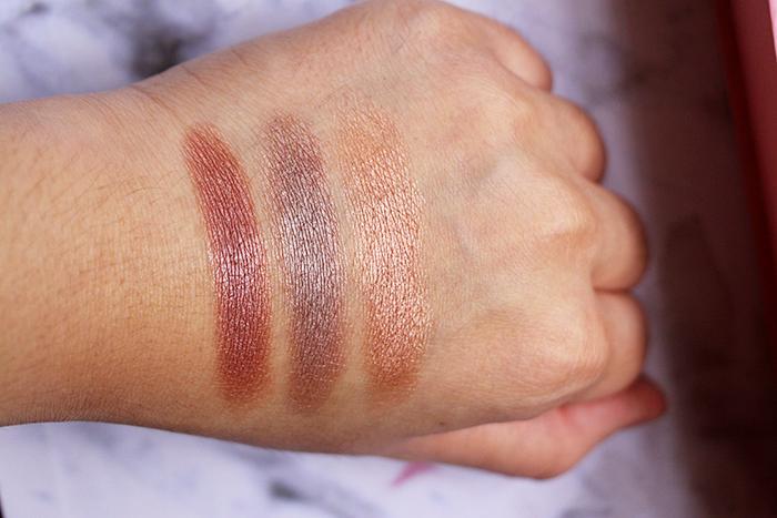 Vani Sagita Emina Cosmetics Pop Rouge Pressed Eyeshadow Romantic Swatch