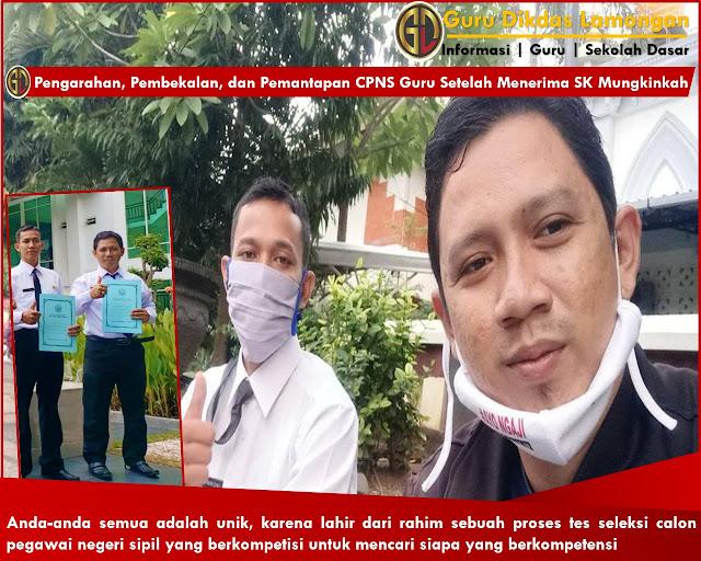 Pengarahan, Pembekalan, dan Pemantapan CPNS Guru Setelah Menerima SK Mungkinkah