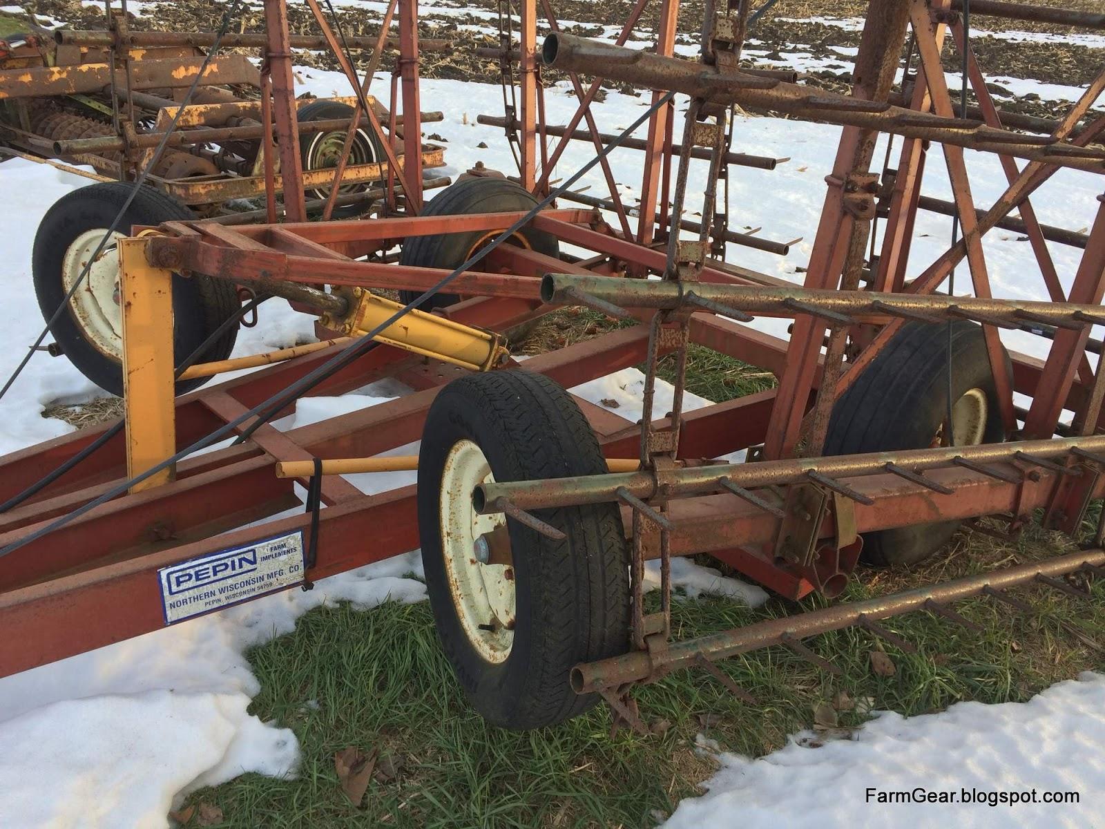 Bar J Disc Harrow : Farm gear for sale pepin harrow
