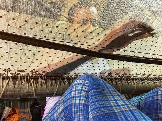 Muslin weaving