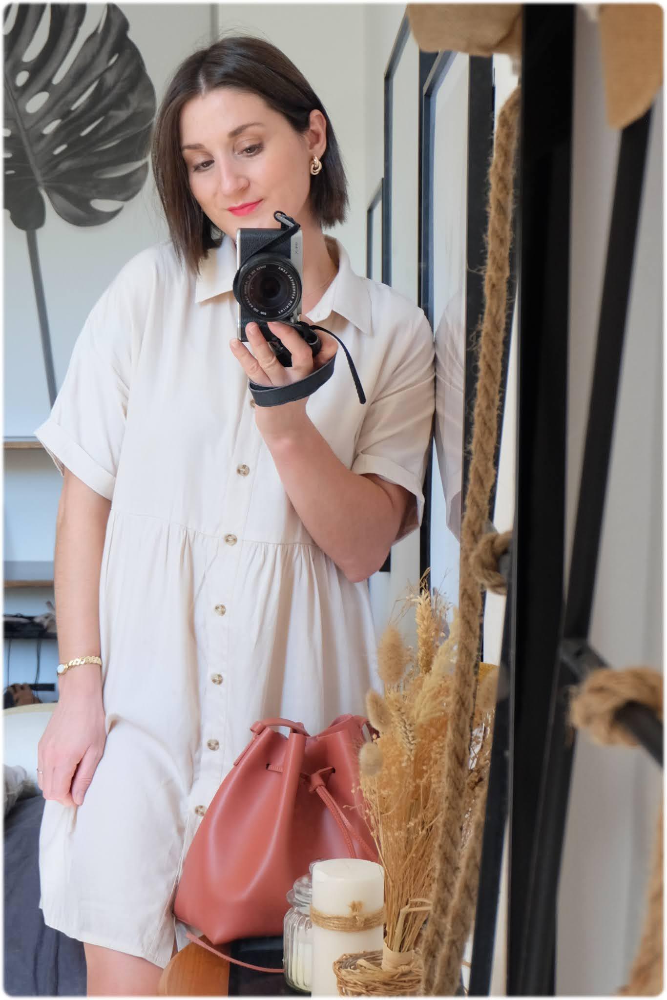 robe shein beige