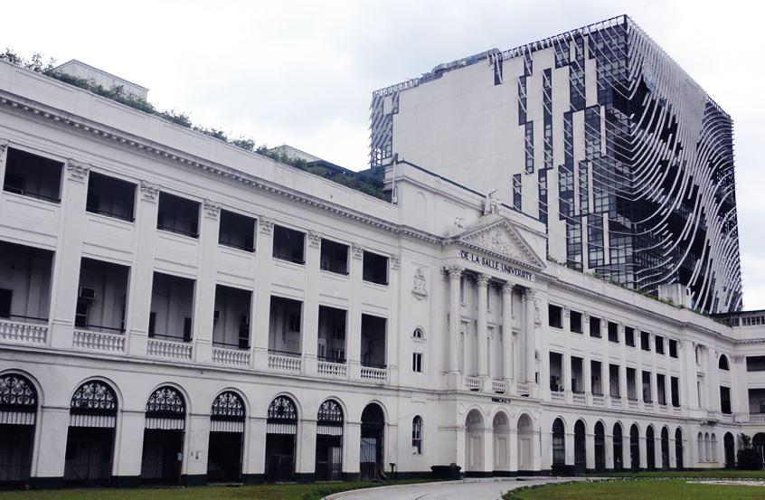 De La Salle University (DLSU) in Manila.