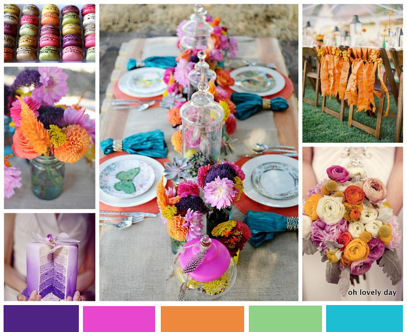 Inspiration board colorful jewel toned wedding oh - What are jewel tones ...