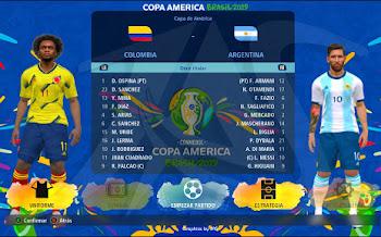 Copa América Brasil 2019 | Parche Gráfico | PES2017 | PC