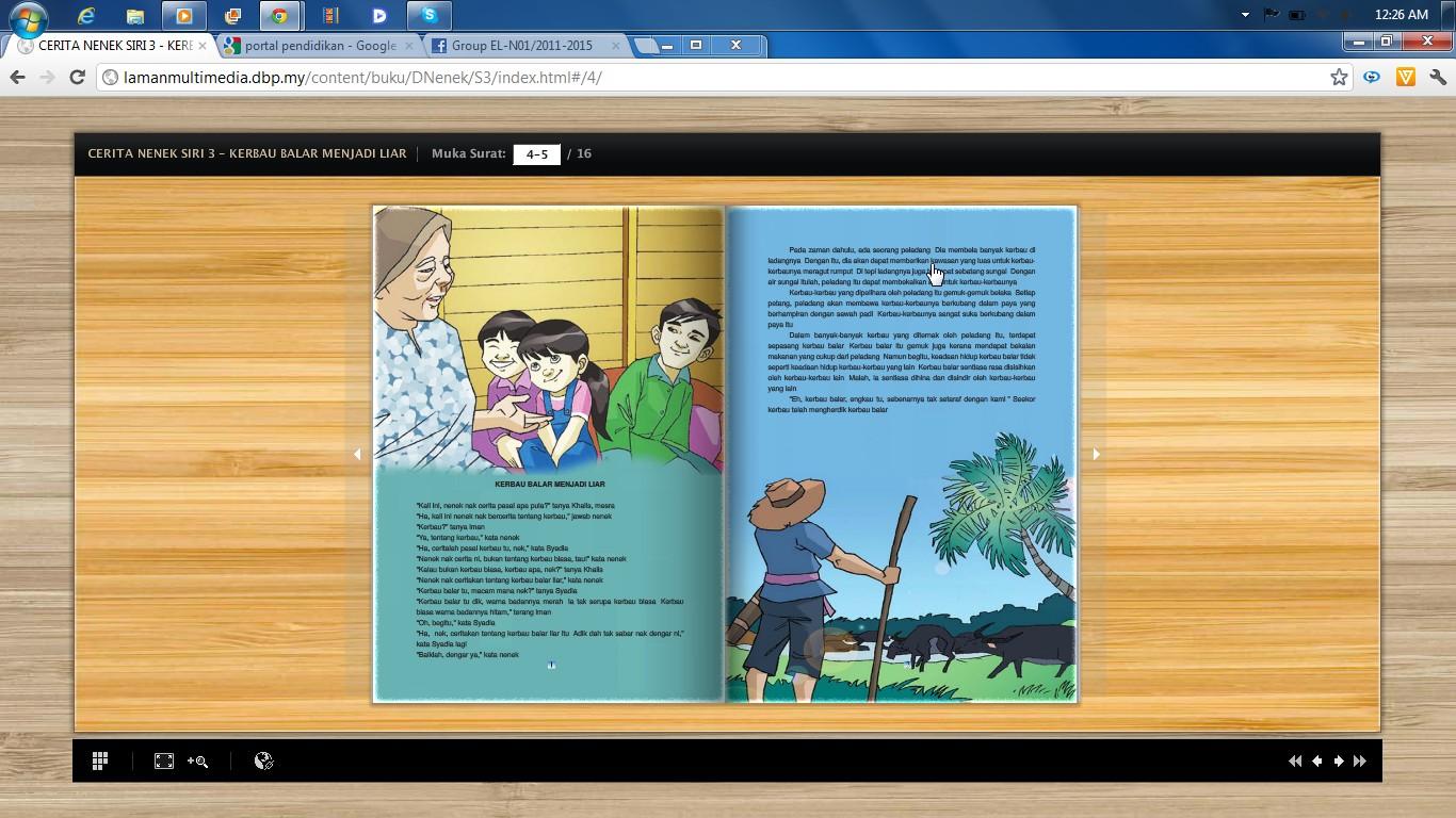 Blog Cikgu Azian Mari Membaca Buku Cerita