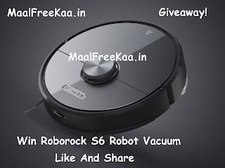 Roborock S6 Robot Vacuum free