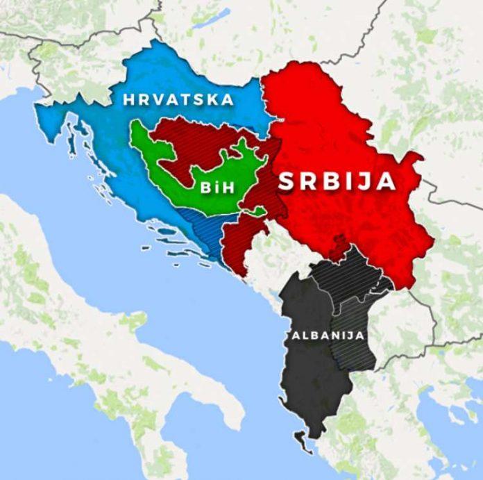 Αλλαγές συνόρων στα Βαλκάνια