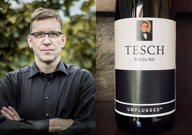 Riesling Unplugged von Winzer Martin Tesch