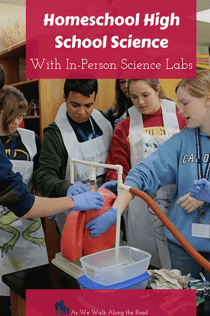 In-person science labs for homeschoolers