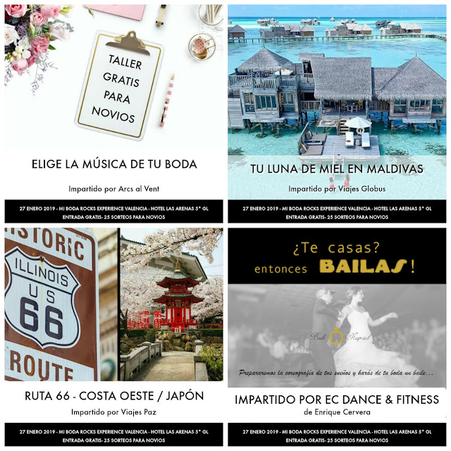 taller gratis mi boda rocks experience valencia enero 2019