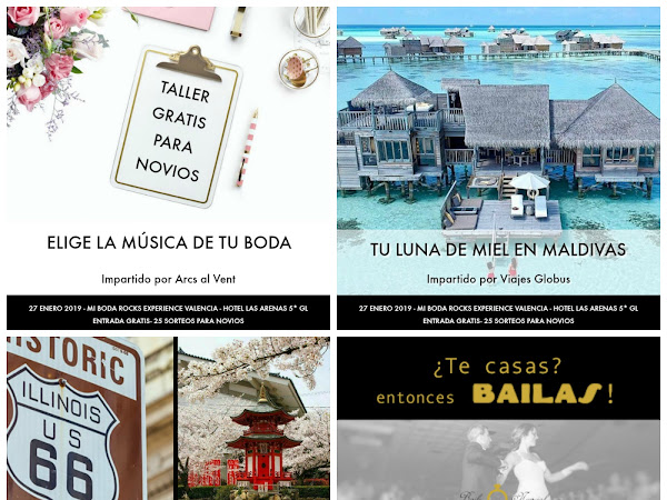 Talleres gratis Mi Boda Rocks Experience Valencia 2019