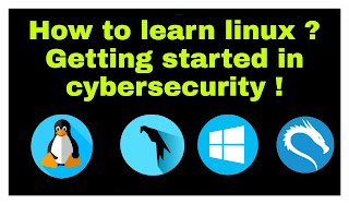 How to learn linux ? Getting started in cybersecurity !