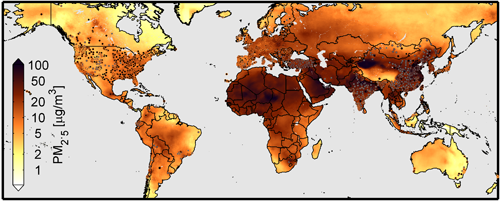 Daily Dose Of Air Pollution How NASA Is Using SpaceAge - Best air quality in us map