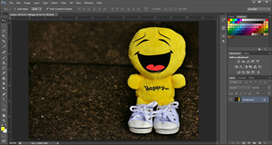 cara membuka foto di photoshop