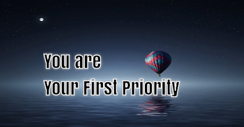 you are your first priority