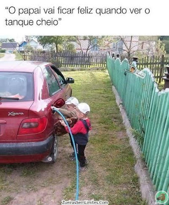 encher o tanque do carro