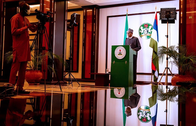 FULL SPEECH: Buhari's address on #EndSARS protests