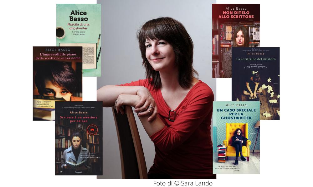 Alice Basso e i suoi romanzi