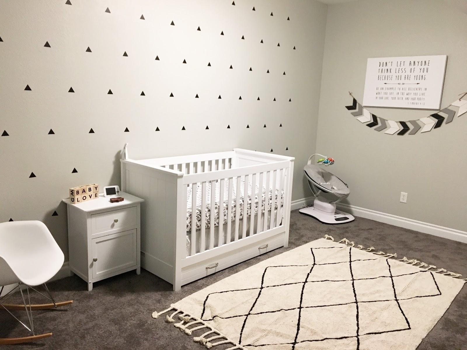 Nursery Reveal Colgate Crib Mattress And Madly Wish
