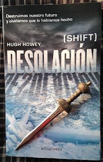 Portada del libro Desolación, de Hugh Howey