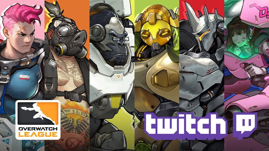 blizzard overwatch league twitch live
