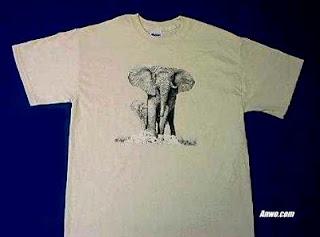 Elephant T Shirt USA
