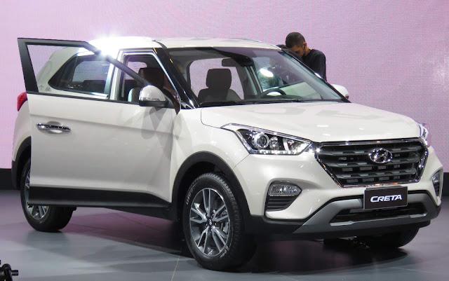 Hyundai Creta 2017 - Salão de São Paulo