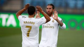 Реал Мадрид - Эйбар где СМОТРЕТЬ ОНЛАЙН БЕСПЛАТНО 3 апреля 2021 (ПРЯМАЯ ТРАНСЛЯЦИЯ) в 17:15 МСК.