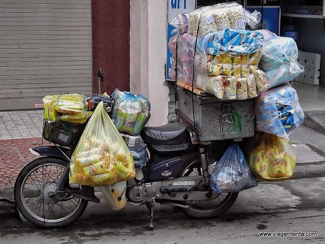 Seu conceito de carga em duas rodas muda após conhecer o Vietnã.