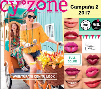 cyzone catalogo 2 2017 Mexico