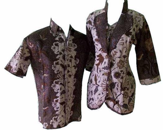 17+ Contoh Model Baju Batik Simple Elegan Trend 2020