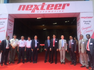 Nexteer Opens Manufacturing Plant in Pune, India