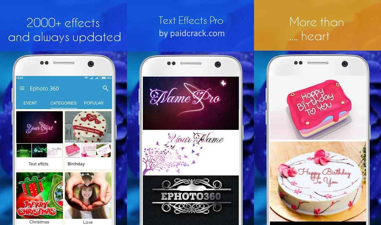 Ephoto 360 - Photo Effects Premium Mod Apk 1.4.111