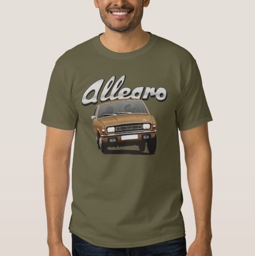 Austin Allegro customizible shirts