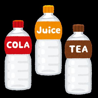 透明な飲み物のイラスト