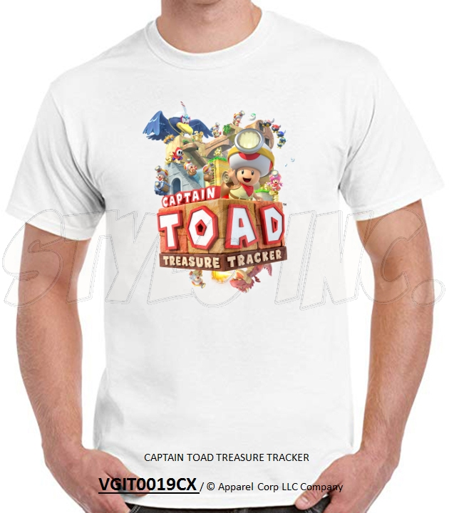 VGIT0019CX CAPTAIN TOAD TREASURE TRACKER